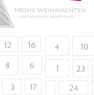 online adventskalender erstellen das perfekte tool. Black Bedroom Furniture Sets. Home Design Ideas